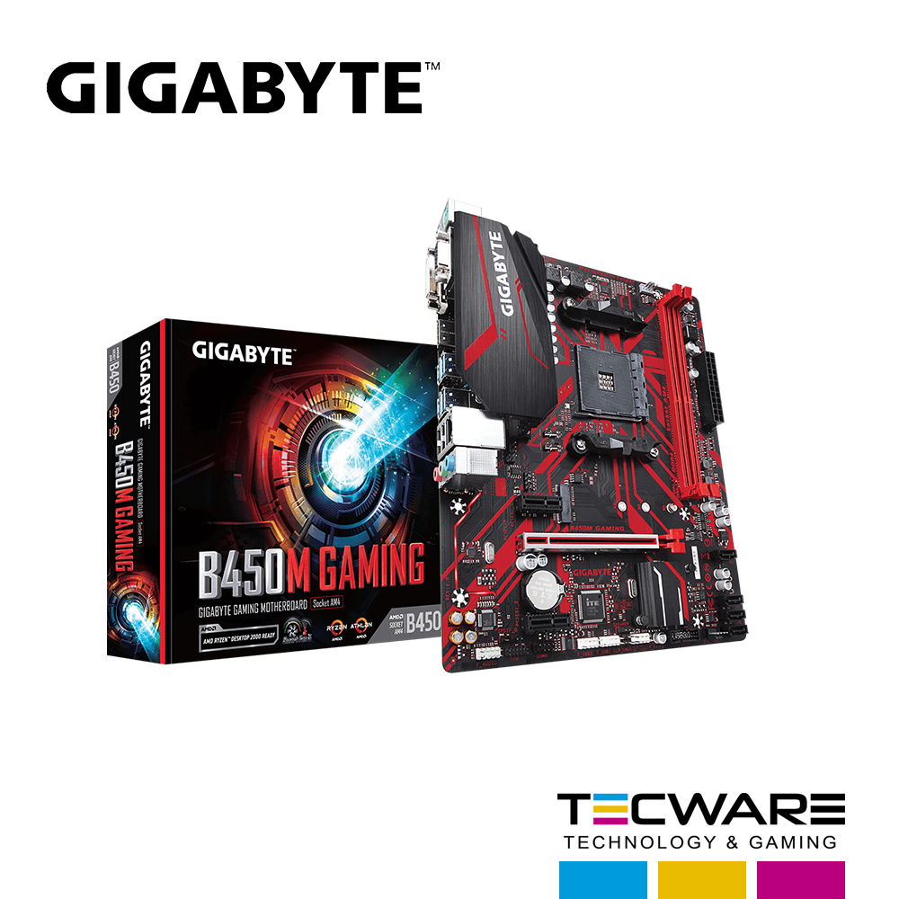 TARJ. MADRE GIGABYTE B450M GAMING 2 SLOT