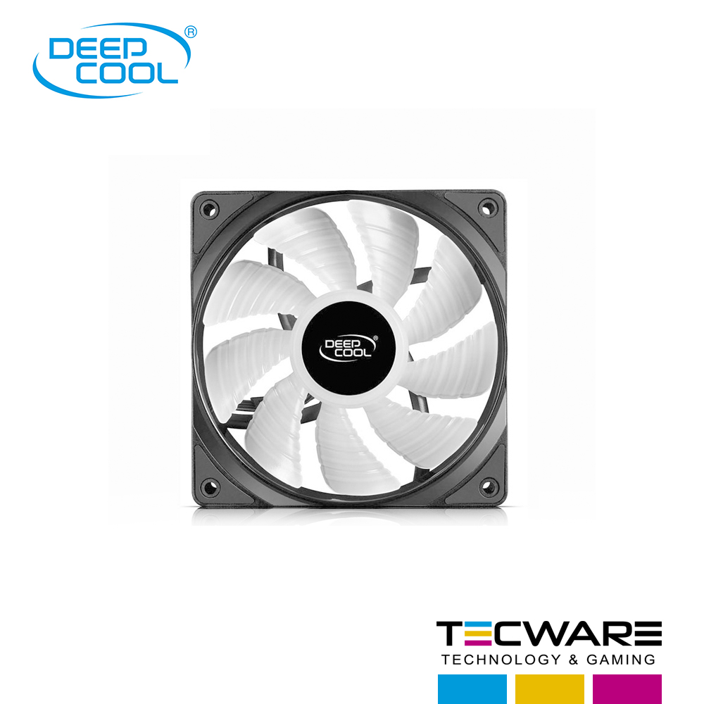 COOLER P/CASE DEEPCOOL RF120 LED RGB 120MM