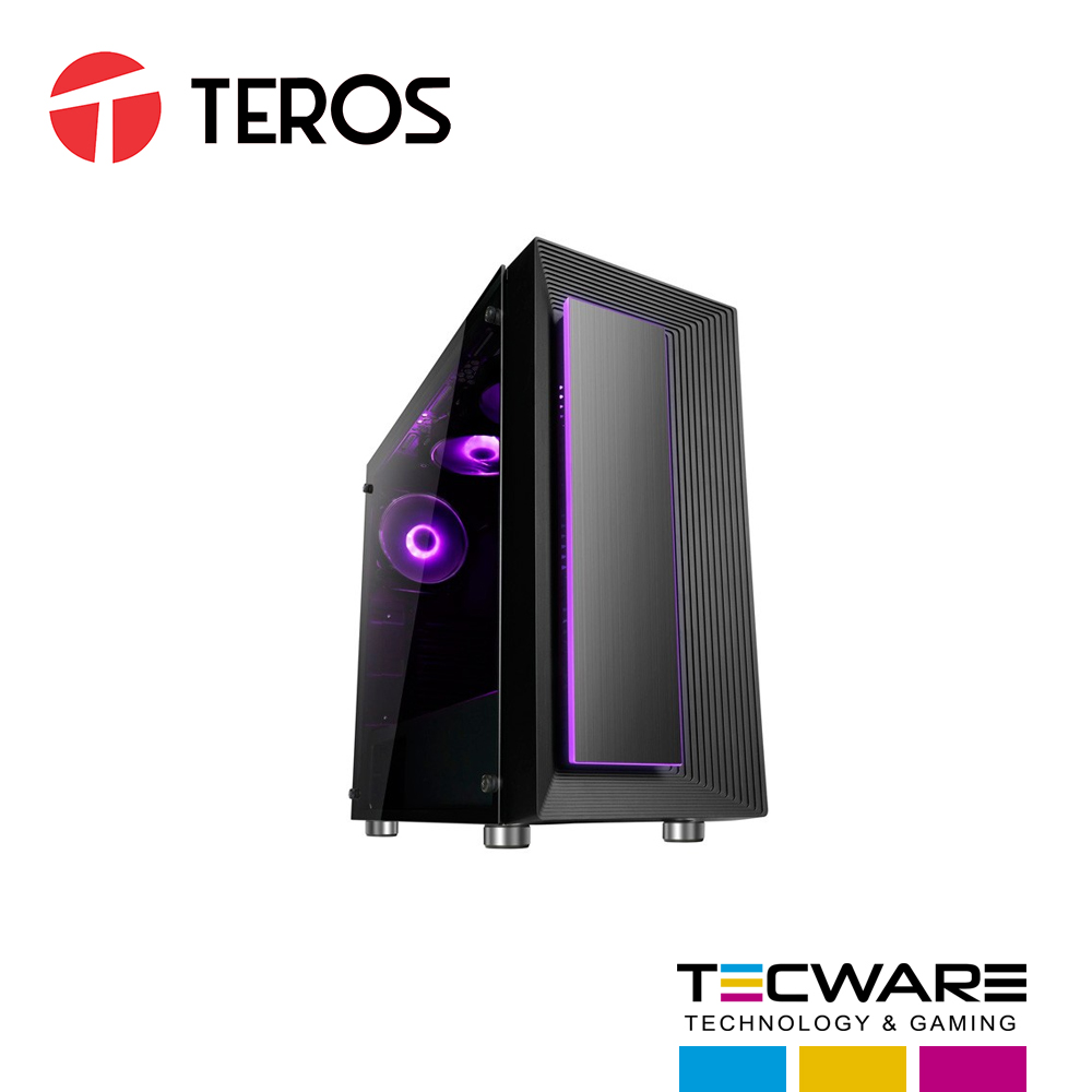 CASE TEROS SPECS FEATURES ORION 6 COOLER PANEL LATERAL TRANSPARENTE RGB