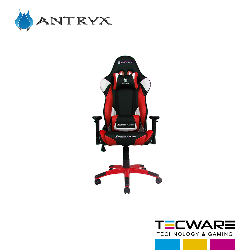 SILLA GAMING ANTRYX XTREME RACING SILVERSTONE RED