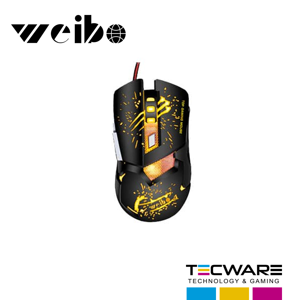 MOUSE WEIBO S10 RGB USB GAMING