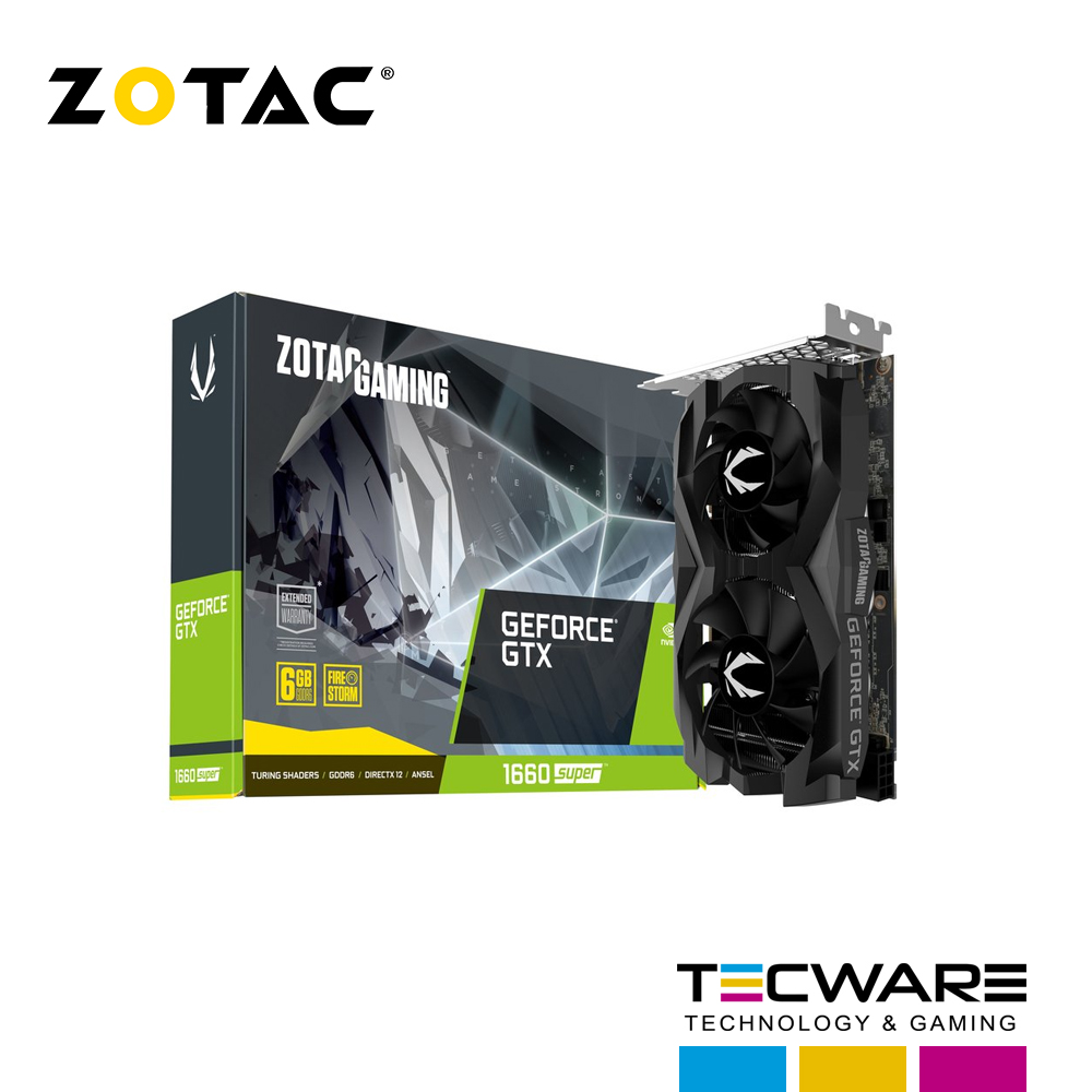 TARJ. VIDEO ZOTAC GEFORCE GTX1660 SUPER TWIN FAN GAMING