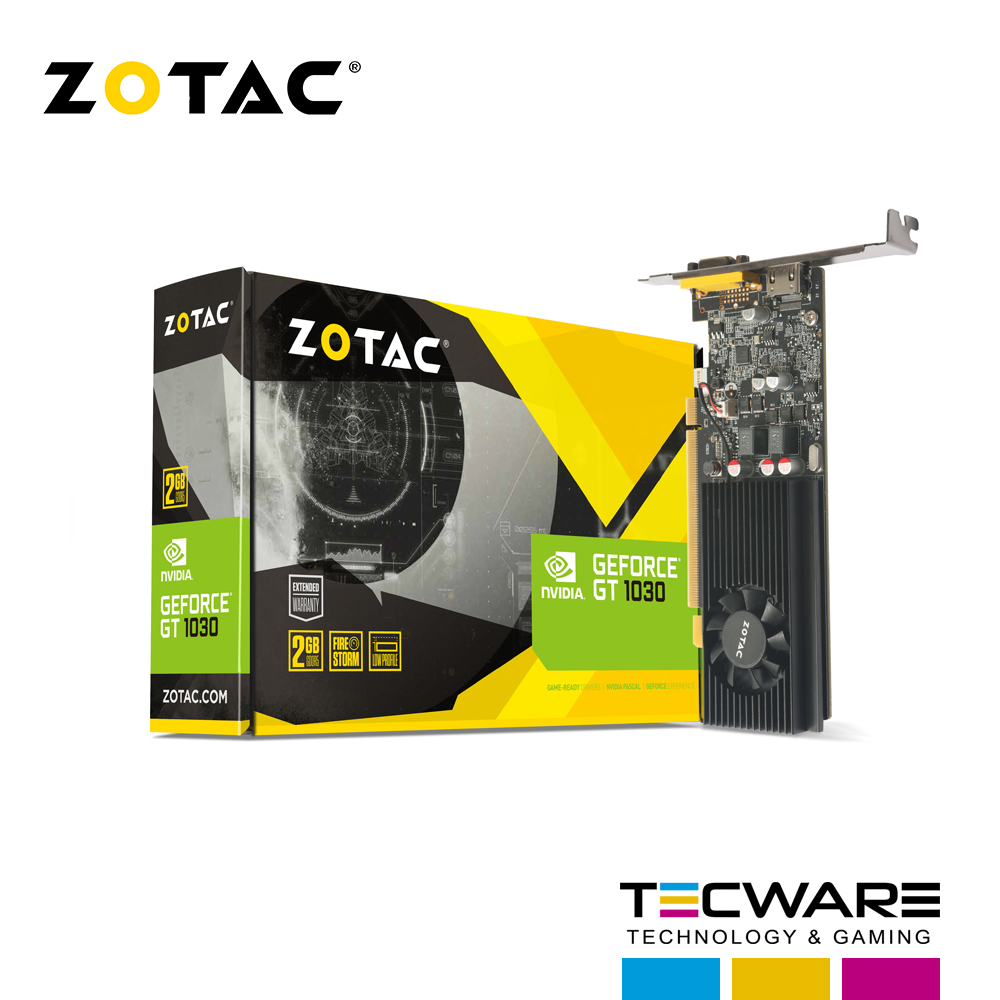 TARJ. VIDEO ZOTAC GEFORCE GT1030 2GB