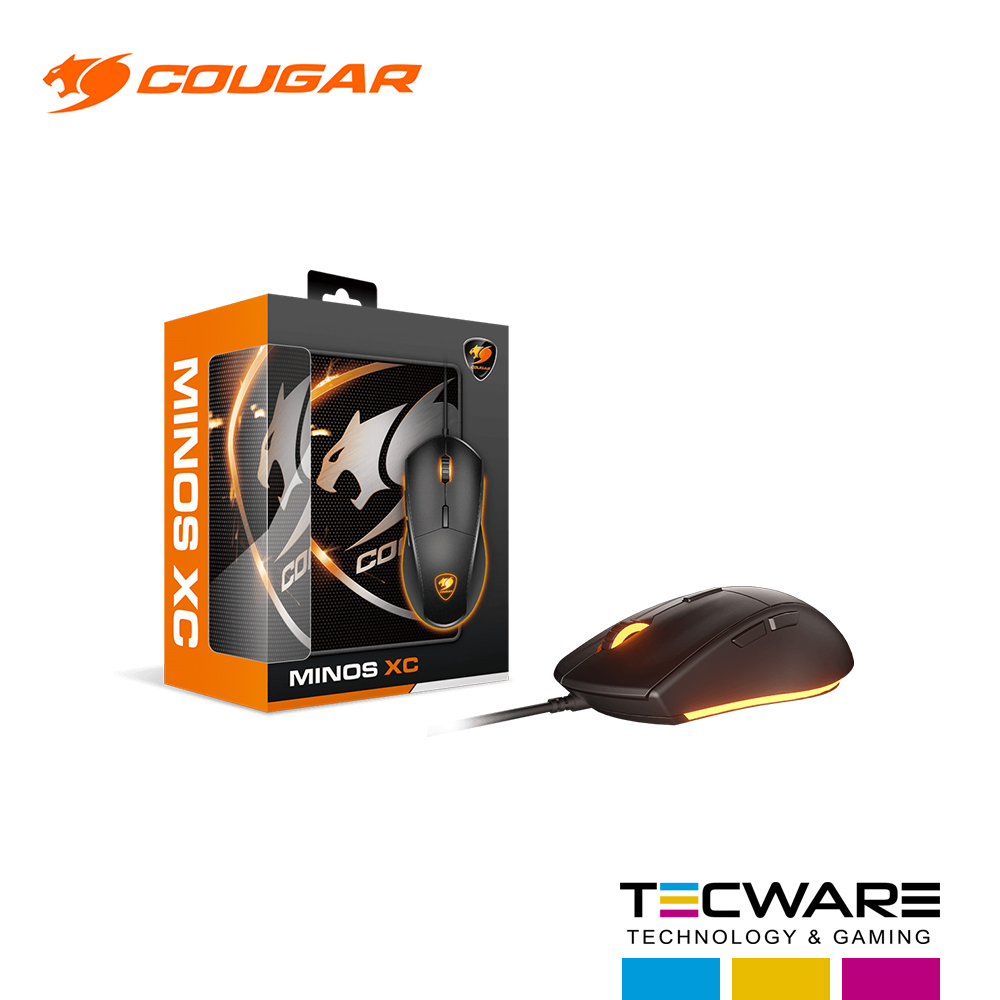 COMBO (MOUSE+PAD MOUSE) COUGAR MINOS XC GAMING LED