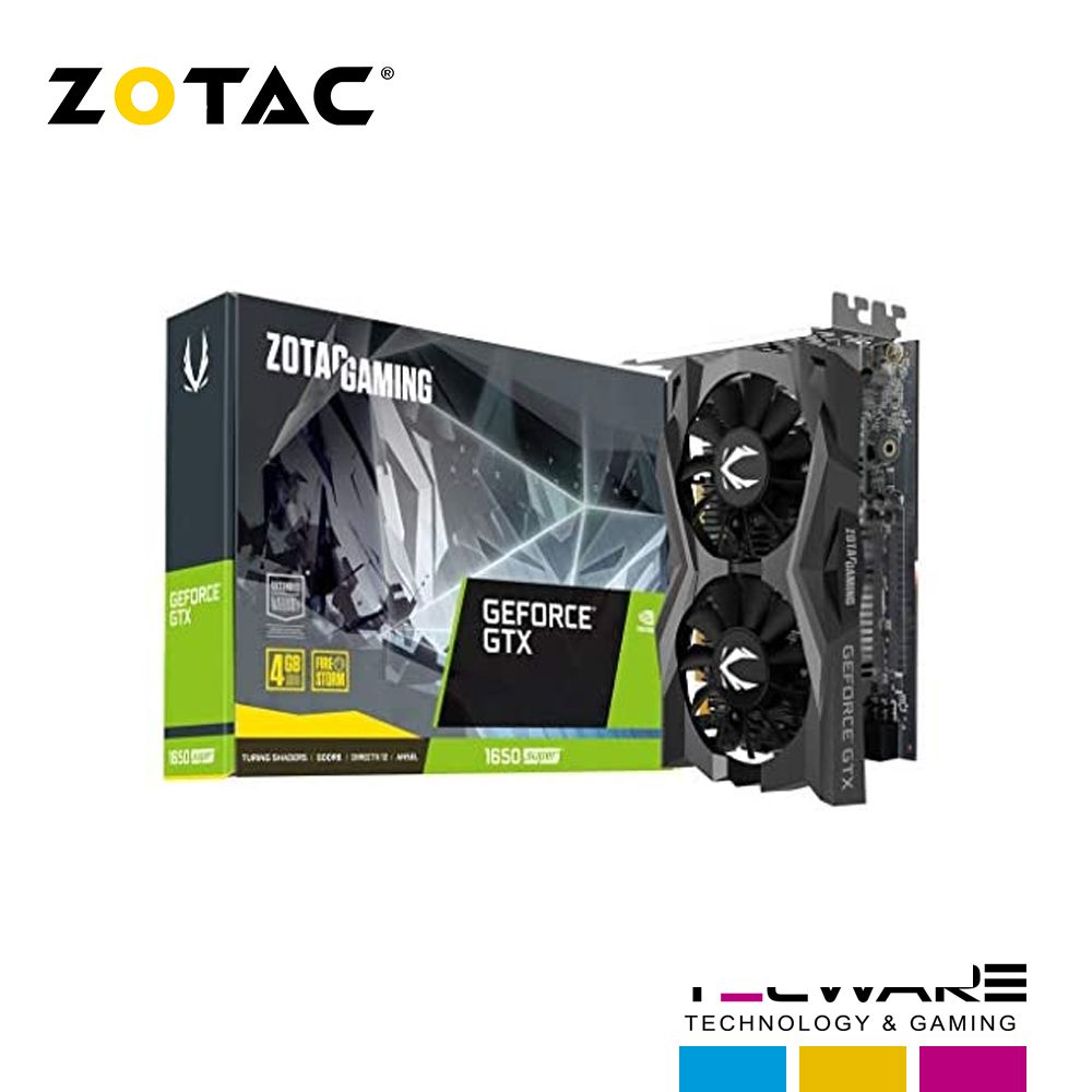 TARJ. VIDEO ZOTAC GEFORCE GTX 1650 SUPER 4GB GDDR5