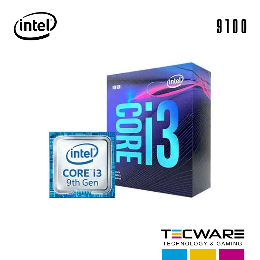 PROC. INTEL CORE I3 9100 3.6GHZ 6MB LGA 1151