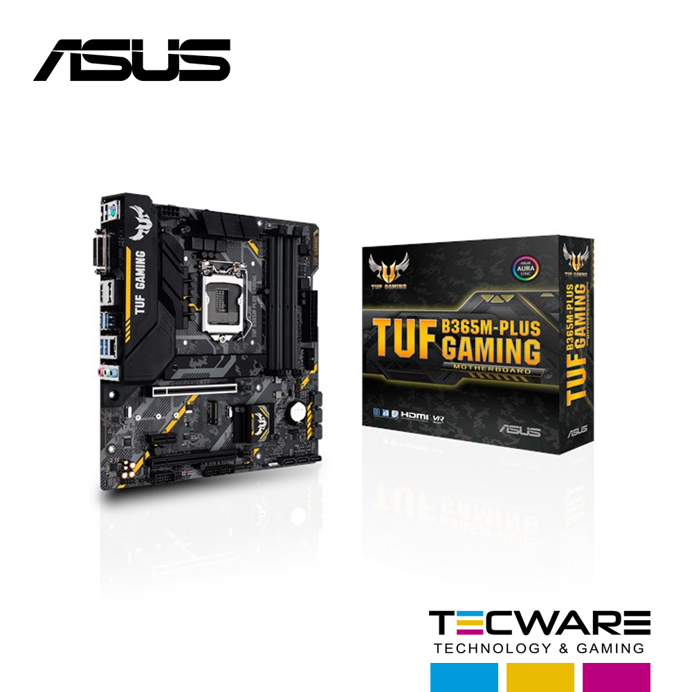 TARJ. MADRE ASUS B365M-PLUS TUF GAMING LGA 1151