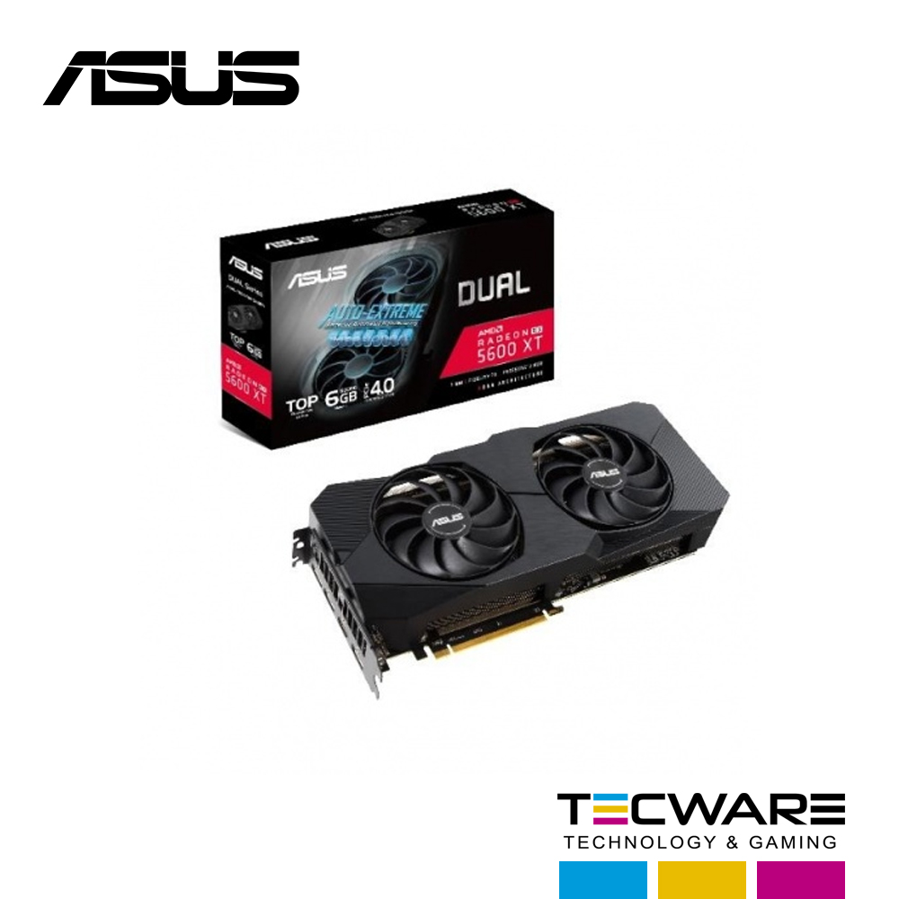 TARJ. VIDEO ASUS DUAL RADEON RX 5600 XT 6GB GDDR6