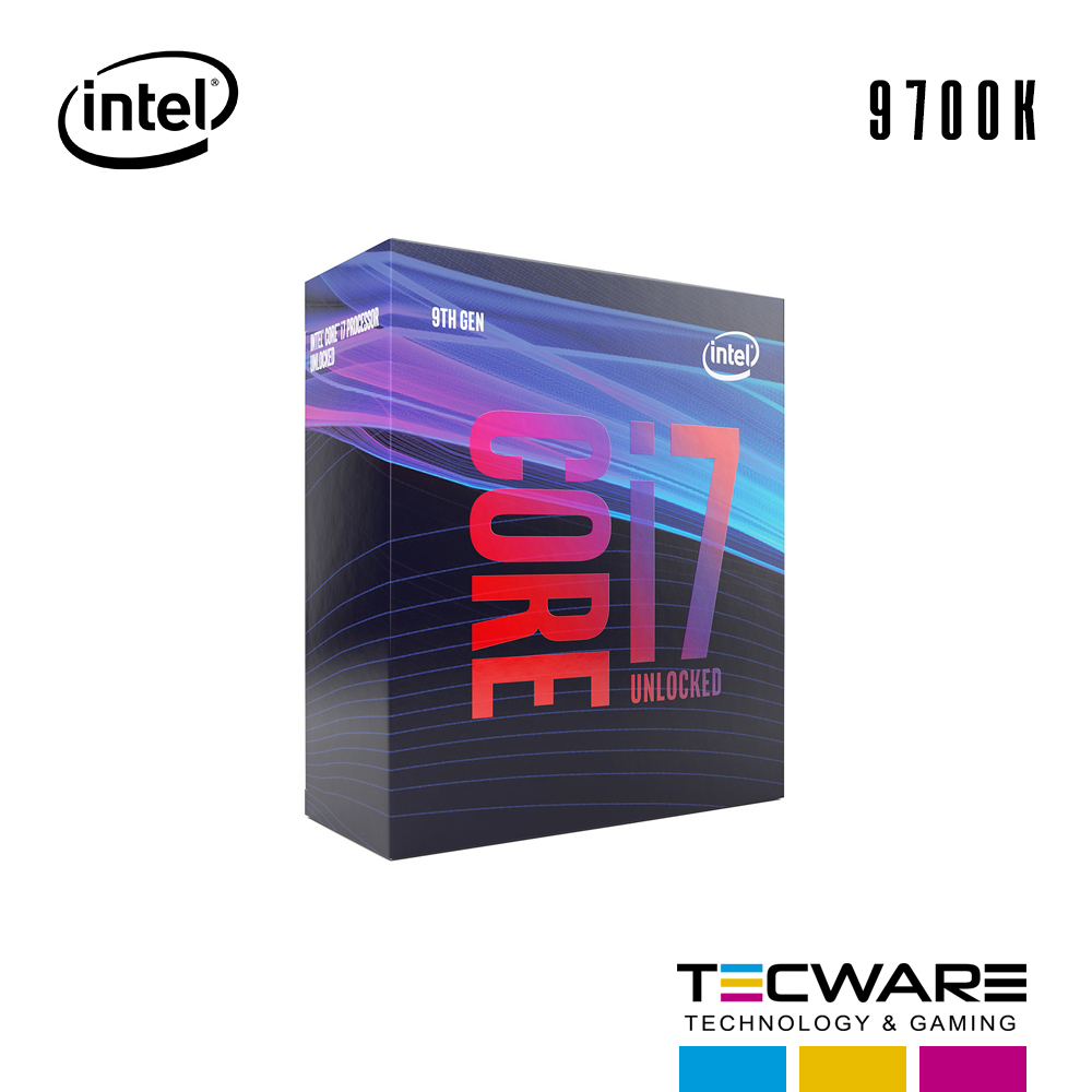 PROC. INTEL CORE I7 9700K 3.60GHZ 12MB LGA1151  9NA GENERACION