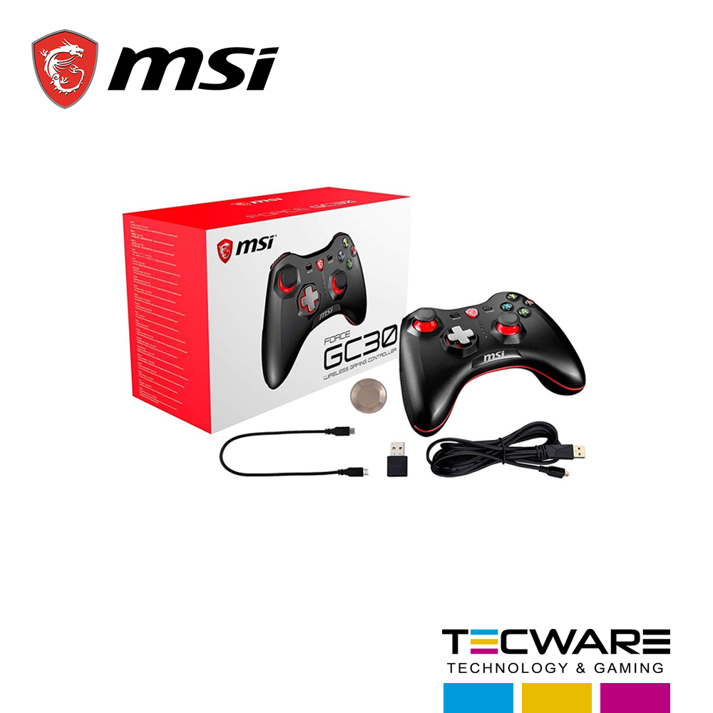 GAMEPAD MSI FORCE GC30 WIRELESS GAMING CONTROLLER