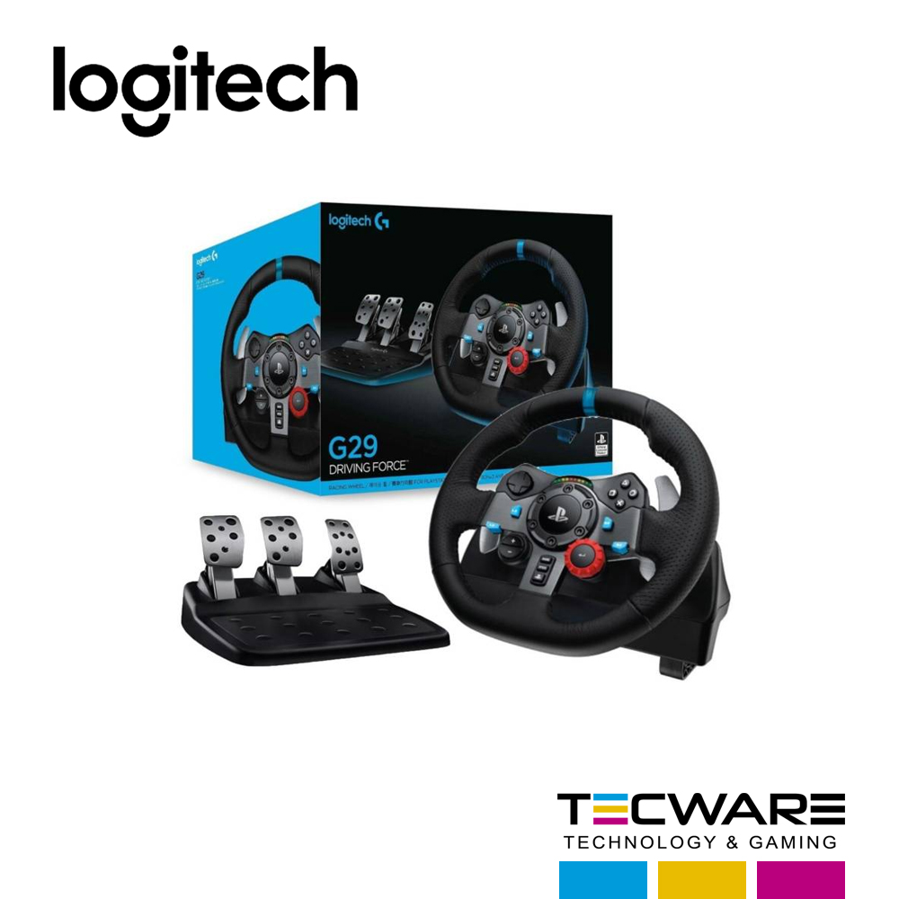 VOLANTE CON PEDAL LOGITECH G23 RACING WHELL