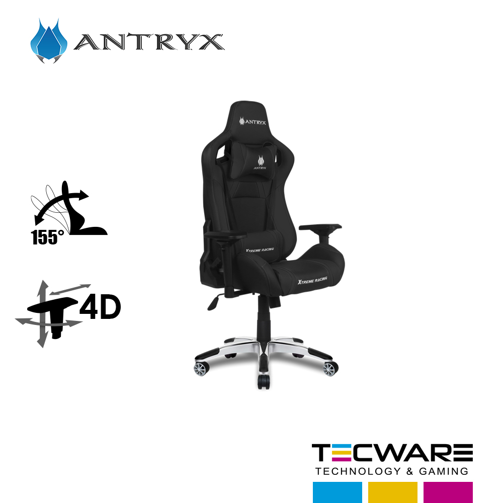 SILLA GAMING ANTRYX XTREME RACING SILVERSTONE BLACK