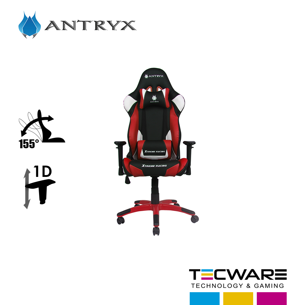 SILLA GAMING ANTRYX XTREME RACING DAYTONA RED