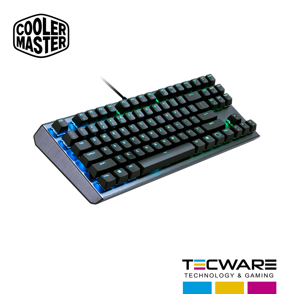 TECLADO COOLER  MASTER CK530 SWITCH RED MECANICO